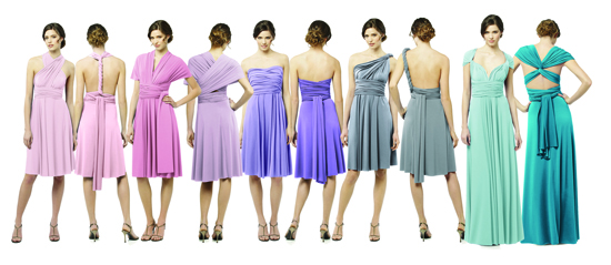 Multiwrap Twist Dresses