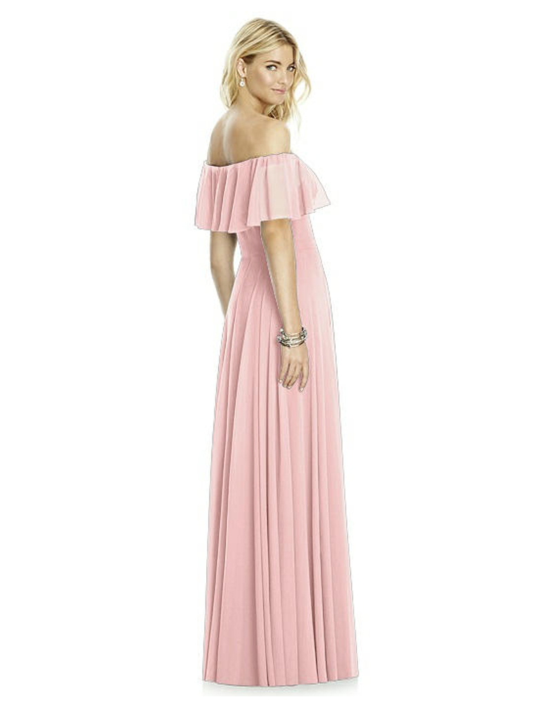 Dessy 6763 bridesmaid gown