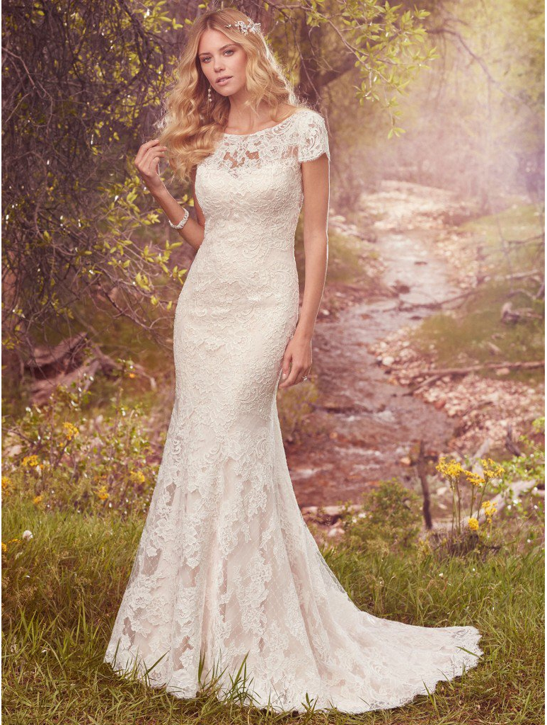 Maggie Sottero Hudson wedding dress @ Bradgate Brides Leicester