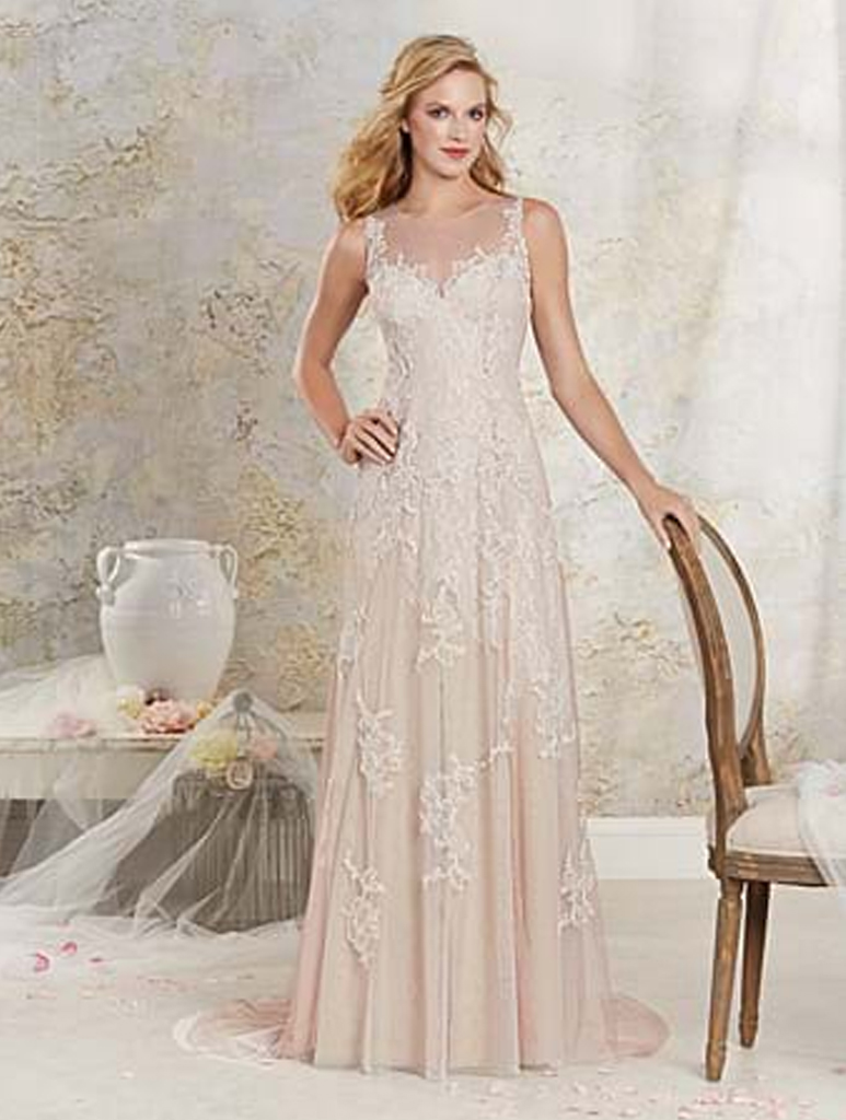 Alfred angelo 8530 wedding gown for Wedding dresses for bridesmaid