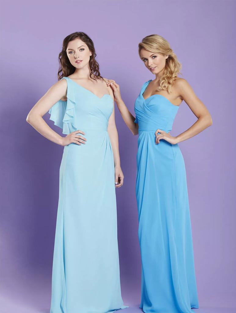 Fancy Ebony Rose Bridesmaid Dresses Illustration - All Wedding ...