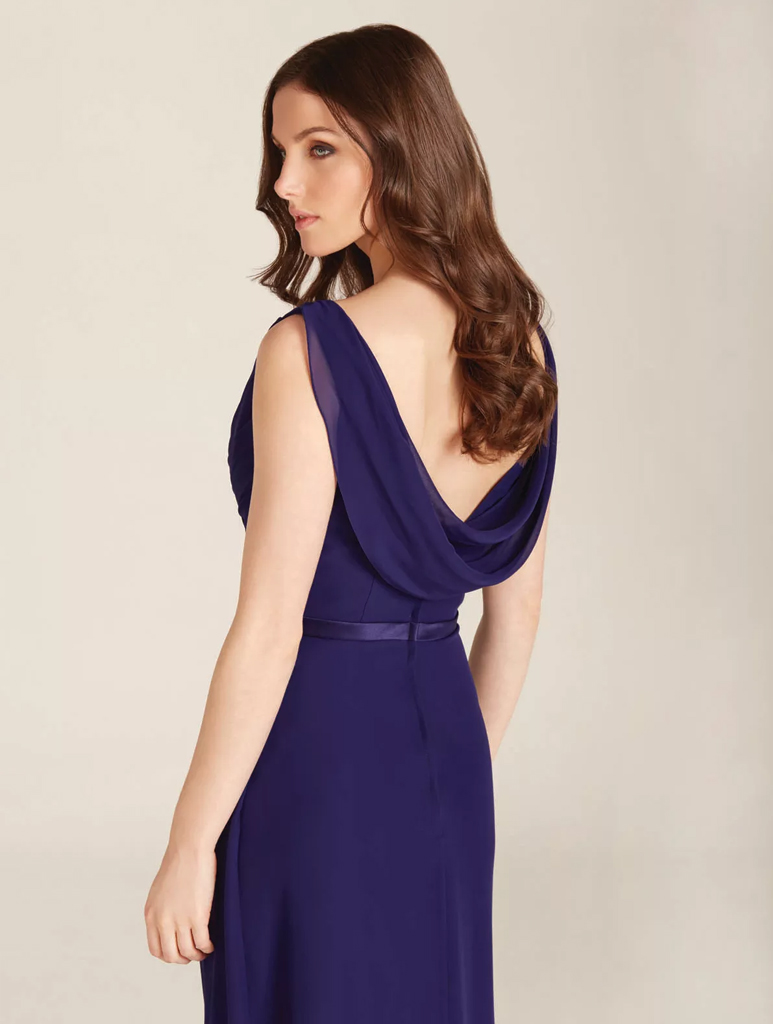 Ebony Rose Monroe bridesmaid dress