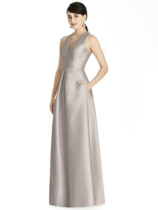 e33ede4a0d Dessy Alfred Sung bridesmaid gown