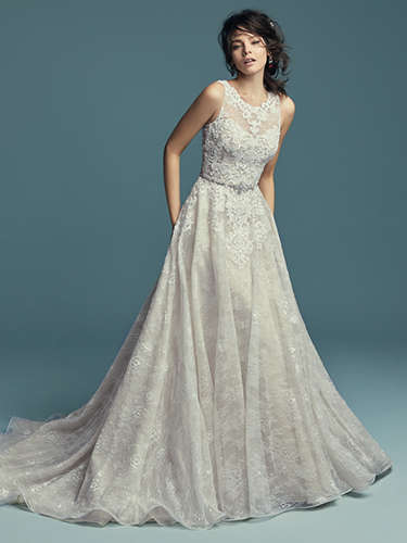 Maggie Sottero Annabella wedding dress @ Bradgate Brides Leicester