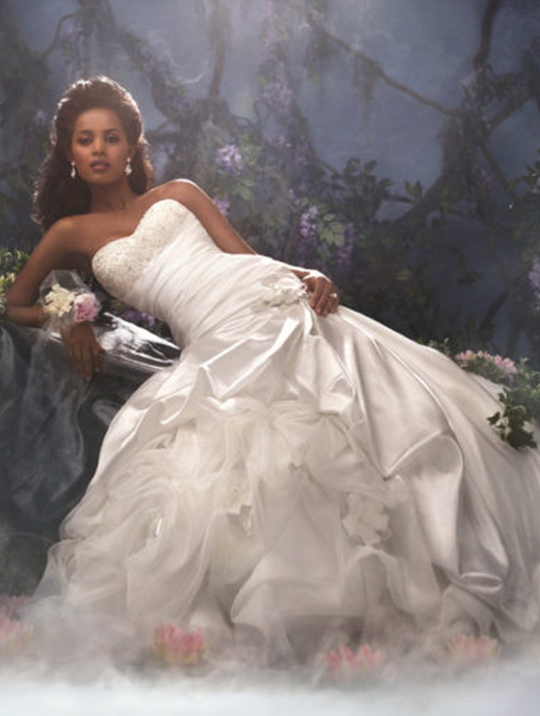 Disney Wedding Dress.Alfred Angelo Disney Tiana 212